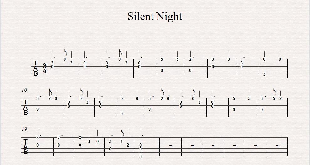 Silent Night Beginner Guitar Lesson Vancouver Guitar Lessons