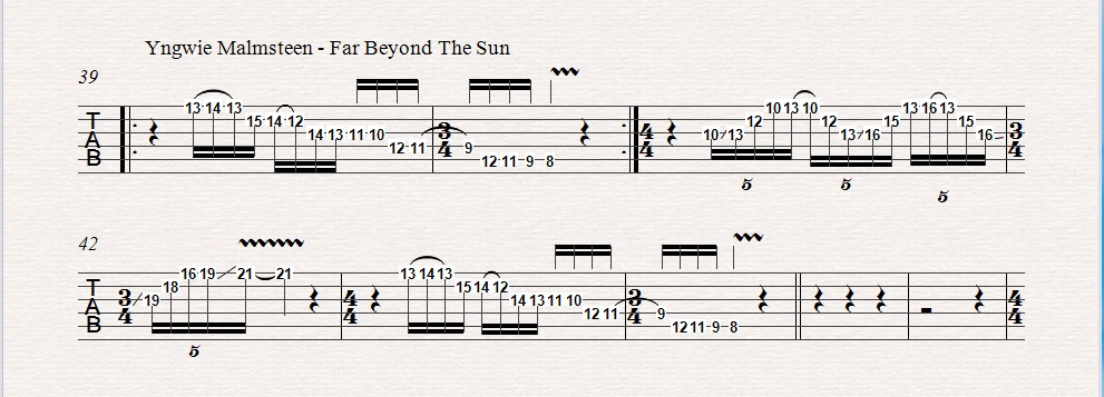Far Beyond The Sun by Yngwie